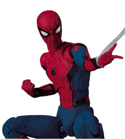 This New 'Spider-Man: Homecoming' Figurine By MAFEX Is A Must-Have