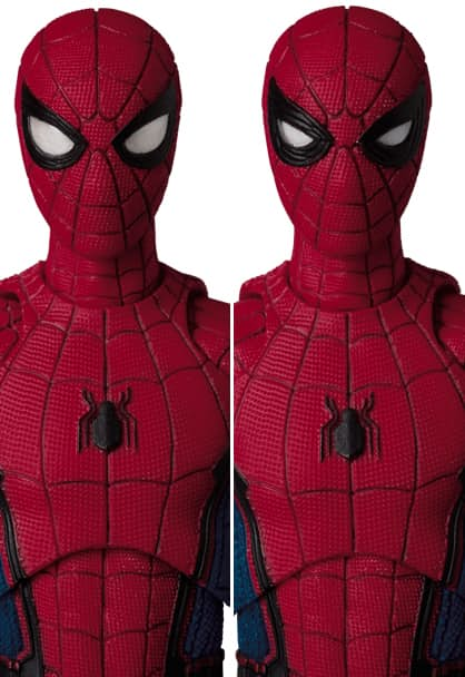 New Tom Holland Spider-Man Homecoming Figurine By MAFEX