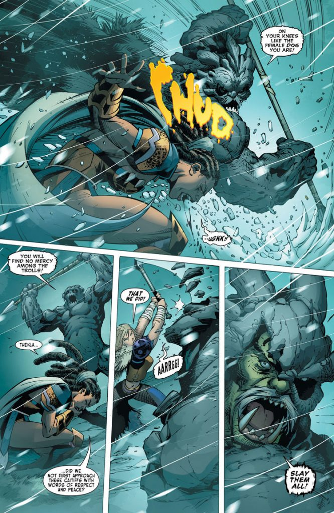 Odyssey Of The Amazons #2 - Review