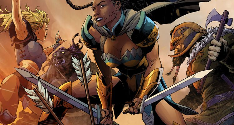Odyssey Of The Amazons #2 Review