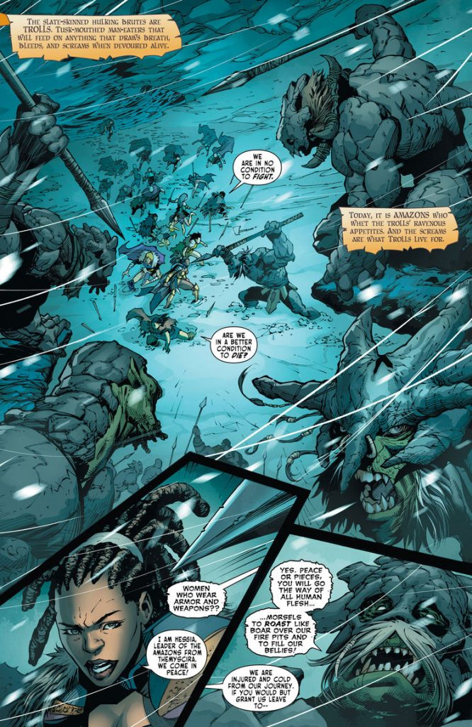 Odyssey Of The Amazons #2 Review - In The Same Vein As The First Issue