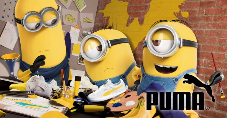 Puma Teams Up With Illumination For Collaboration With Minions