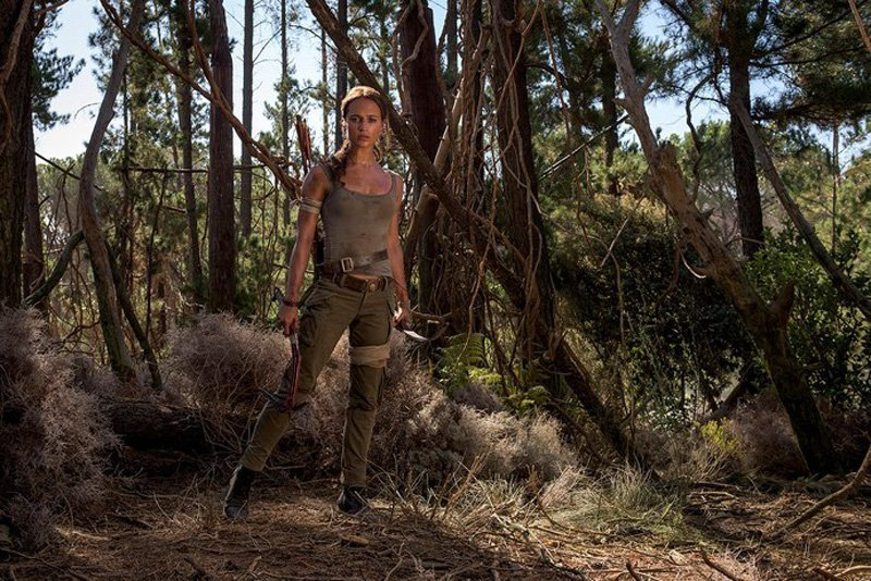 First Look At Alicia Vikander As Lara Croft In The New Tomb Raider Movie