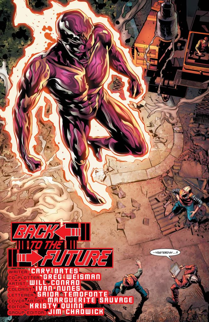 The Fall and Rise of Captain Atom #3