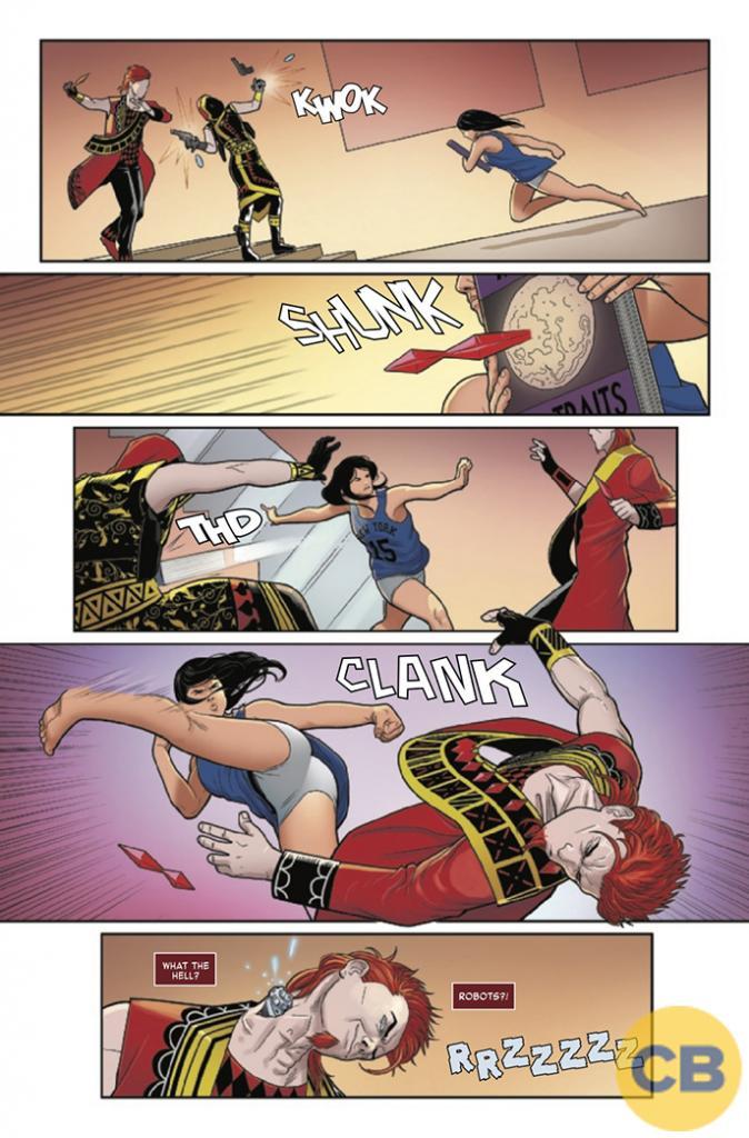 Comic Book Elektra #2 Review