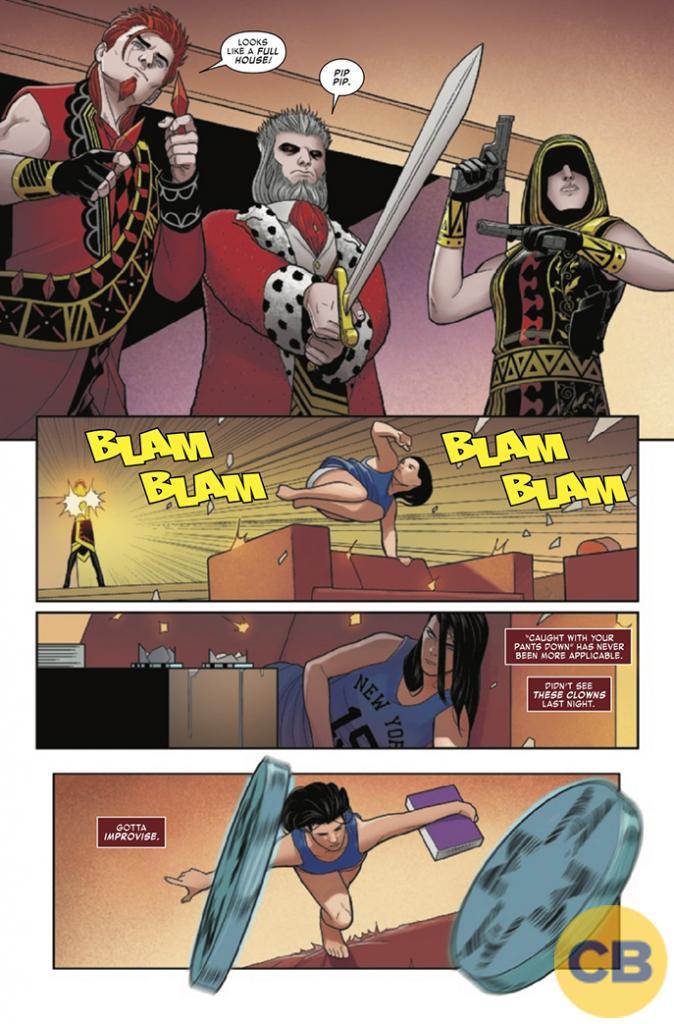 Elektra #2 Comic Book Review
