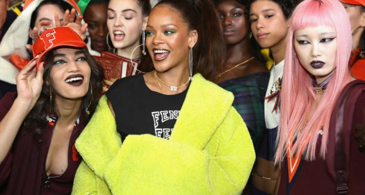 Fenty X Puma Rihanna Autumn/Winter '17 Collection Hits the Runway in Paris
