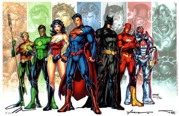 Green Lantern is often listed as the seventh major member.