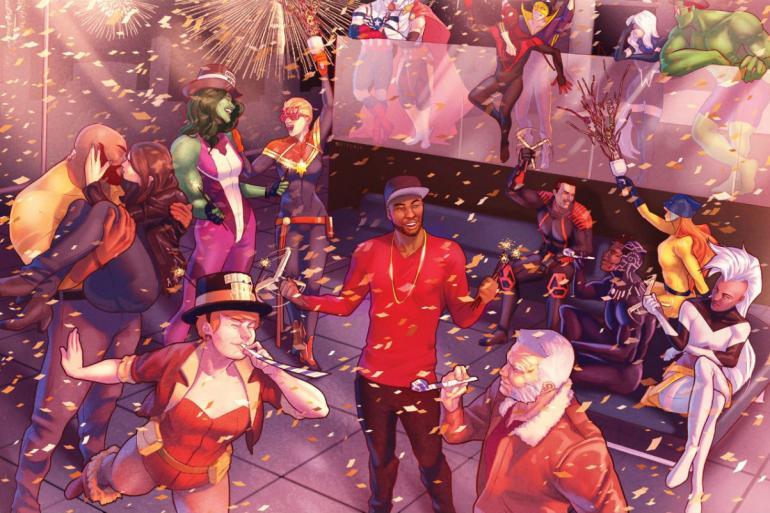 Marvel Comics' Dance