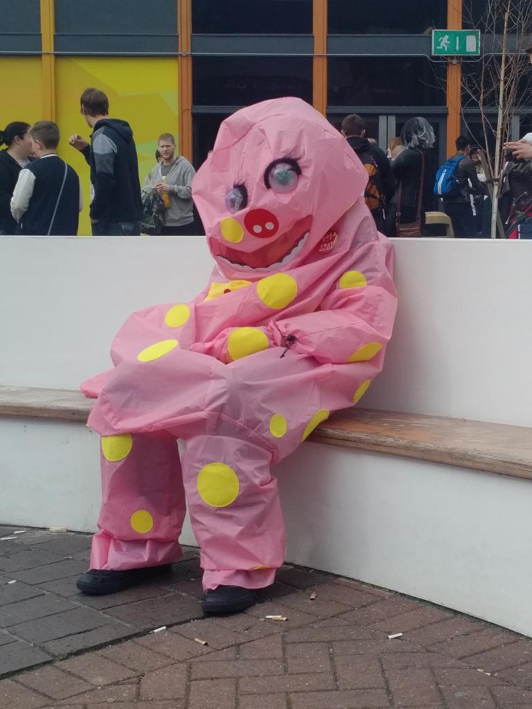 Mr Blobby Deflated