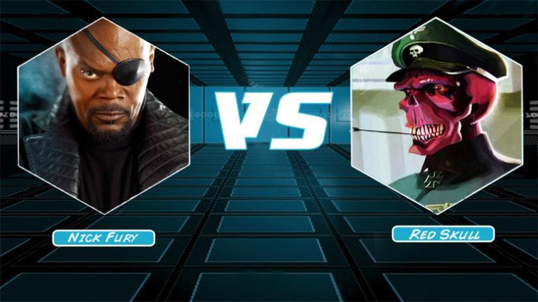 Nick Fury vs Red Skull