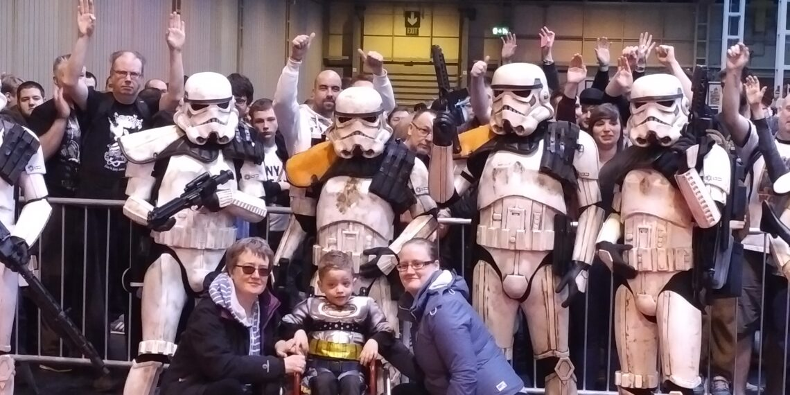 Stormtroopers entrance