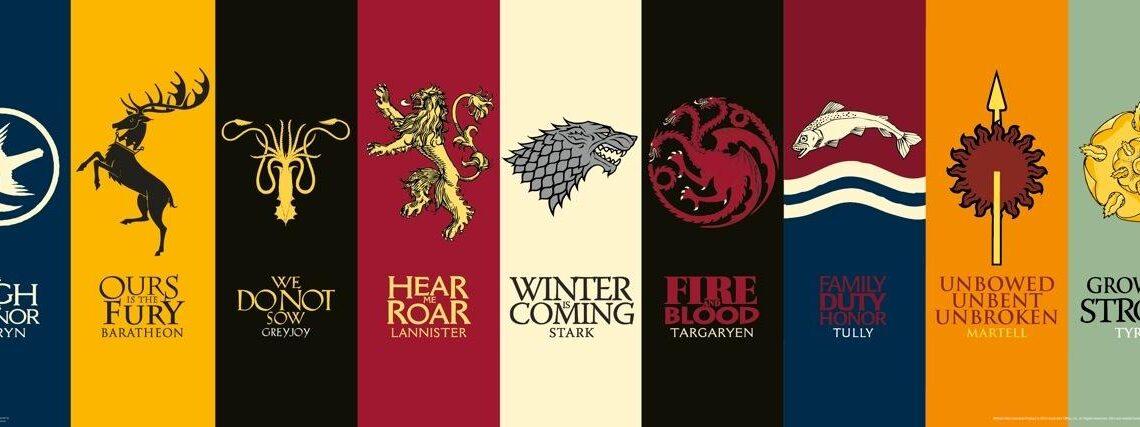The History Of House Targaryen, House Stark, House Lannister And More