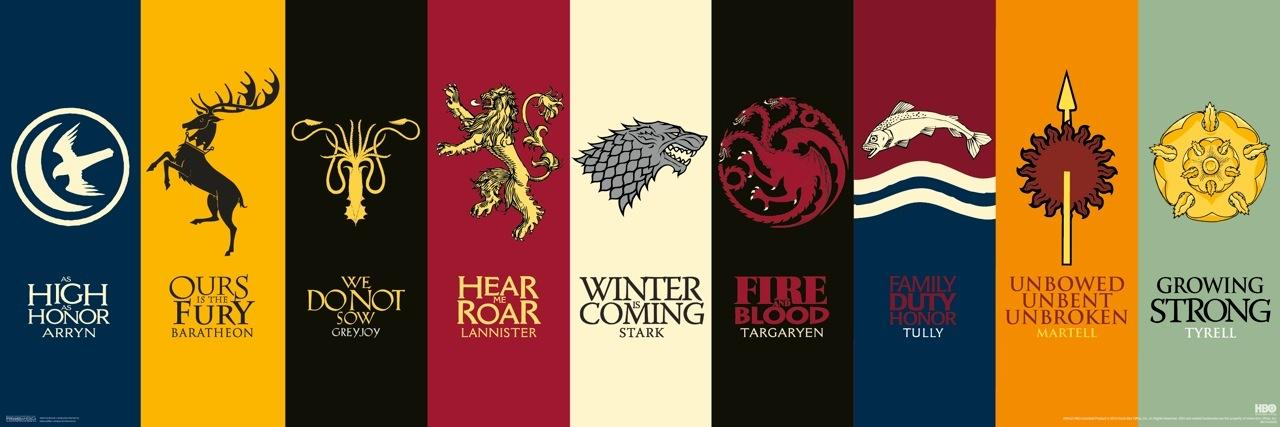 the history of house targaryen house stark house lannister and more. Black Bedroom Furniture Sets. Home Design Ideas