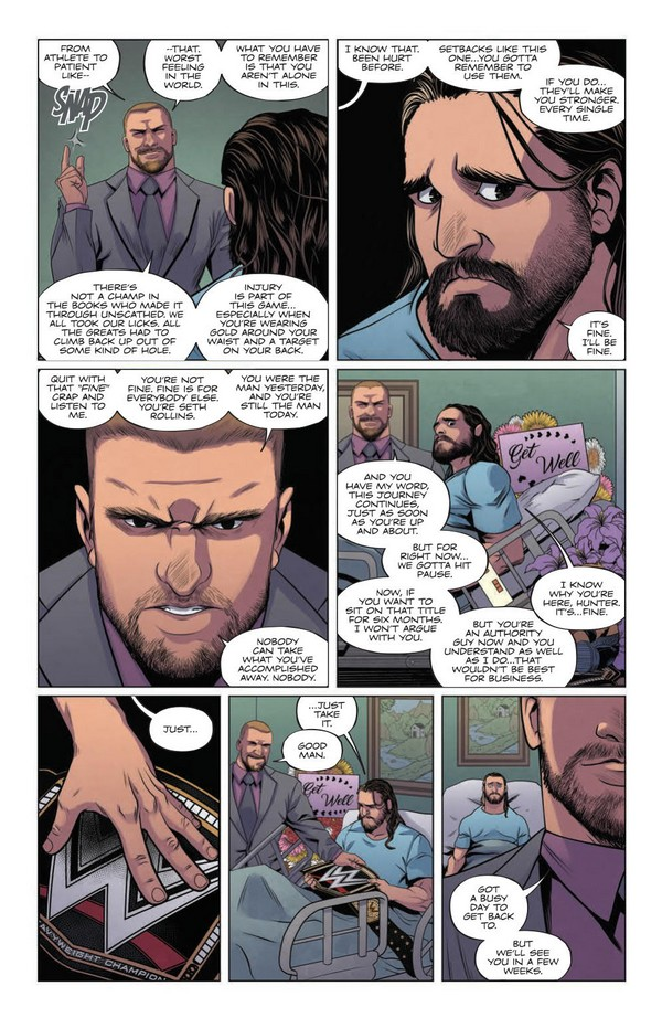 WWE #3 -- Review