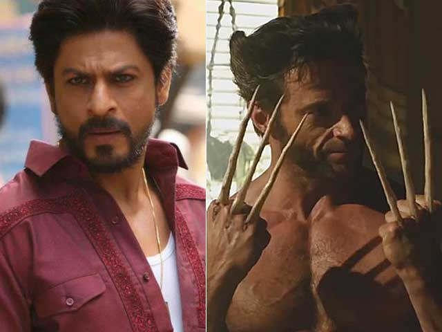 Wolverine Hugh Jackman Shah Rukh Khan