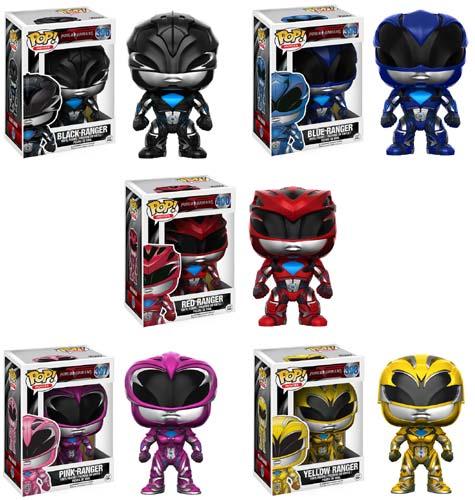 """It's Morphin' Time! Win 1 of 5 'Saban's Power Rangers"""" Funko Pop Figures"""