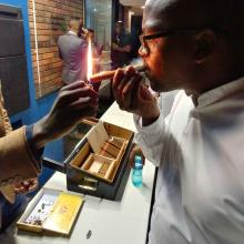 We Attended the Cognac and Cigars Gentleman's Evening with Ster-Kinekor Entertainment