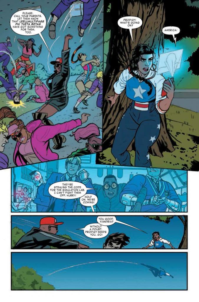 America #2 Comic Book Review
