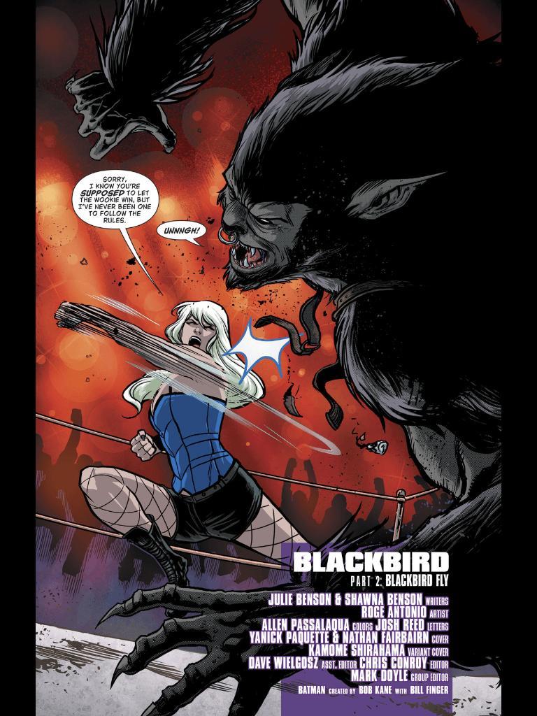 Batgirl and the Birds of Prey #9 Comic Book