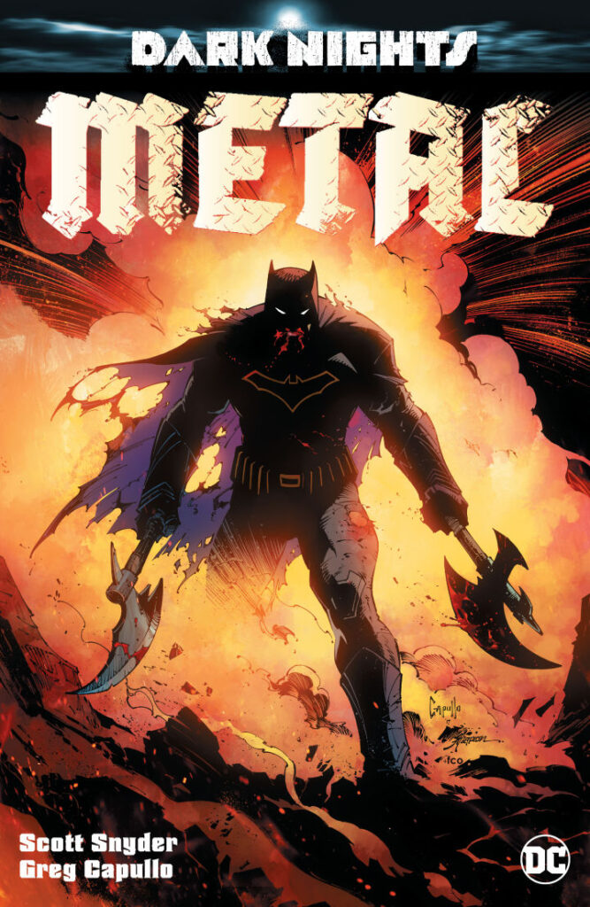 Snyder And Capullo Have Reunited For Batman's 'Dark Nights: Metal'
