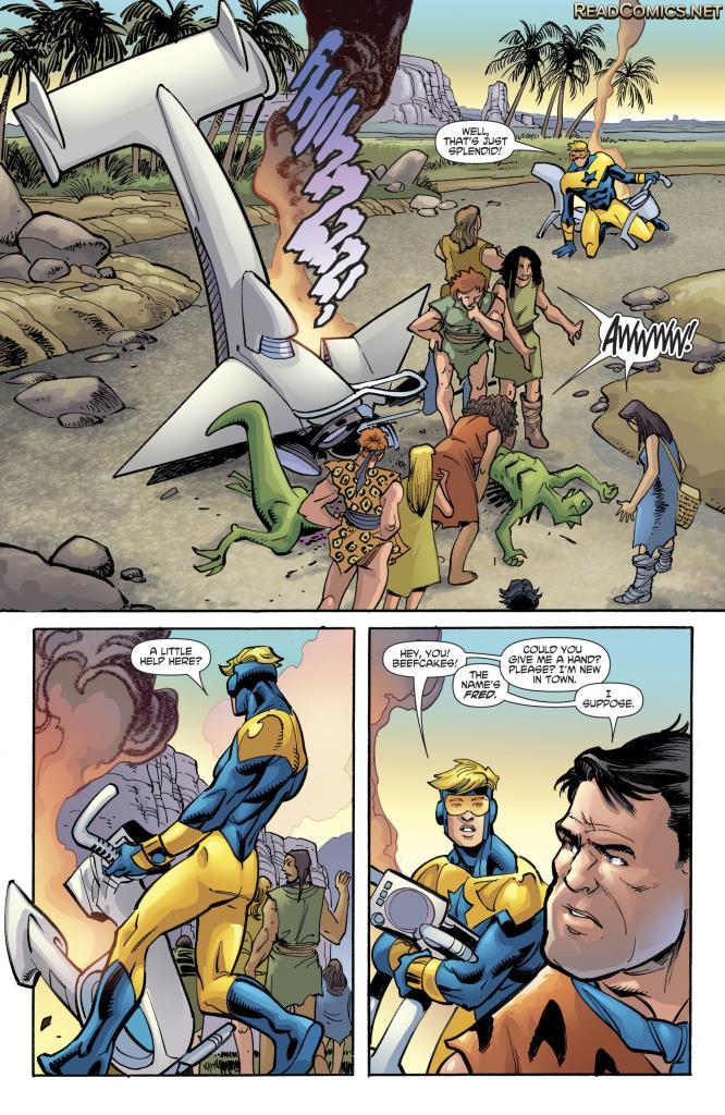 Booster Gold/The Flintstones Special #1