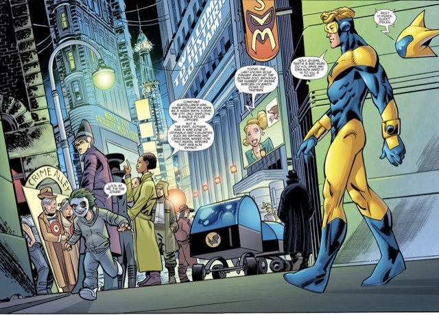 Booster Gold/The Flintstones Special #1