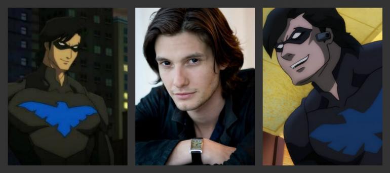Nightwing Movie - DCEU Ben Barnes