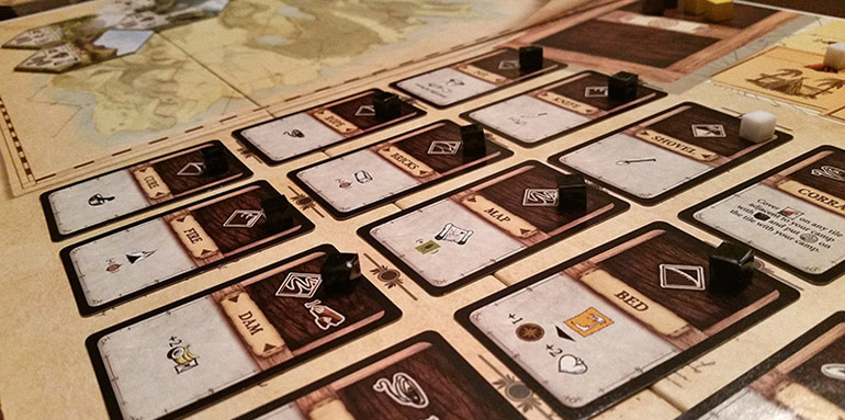 Robinson Crusoe Adventure on the Cursed Island Board Game Review - Will You Survive?