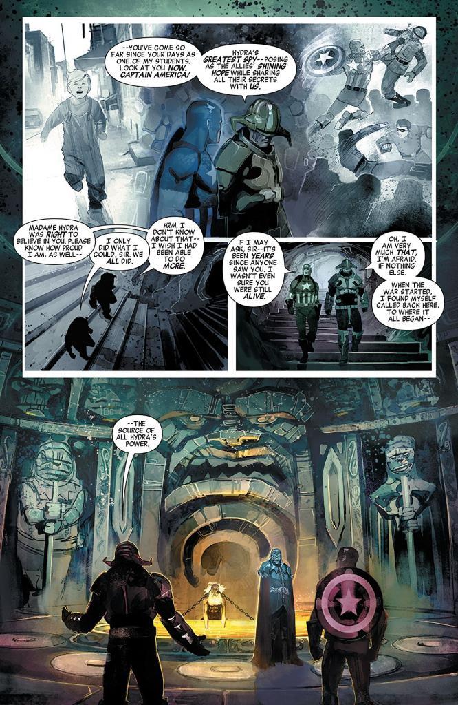 Secret Empire #0 Review