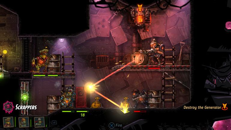 SteamWorld Heist Game Review - A Dazzling Futuristic Pirate Western