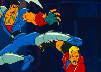 Double Dragon Cartoons Based on Video Games