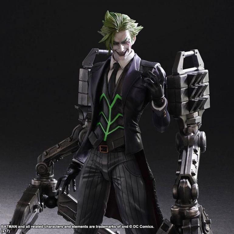 Final Fantasy Designer Tetsuya Nomura Reimagines DC's Joker 09