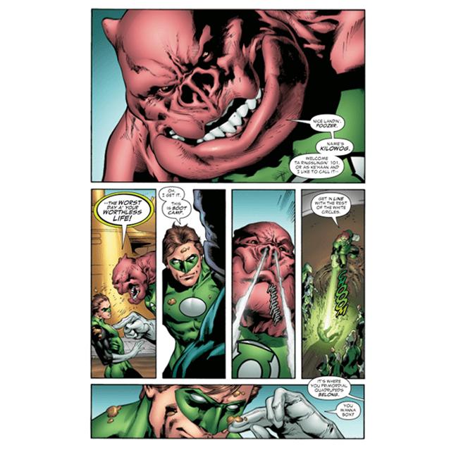 Green Lantern Secret Origin Review