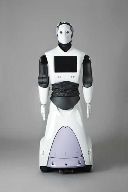First Robocop Joins Dubai Police