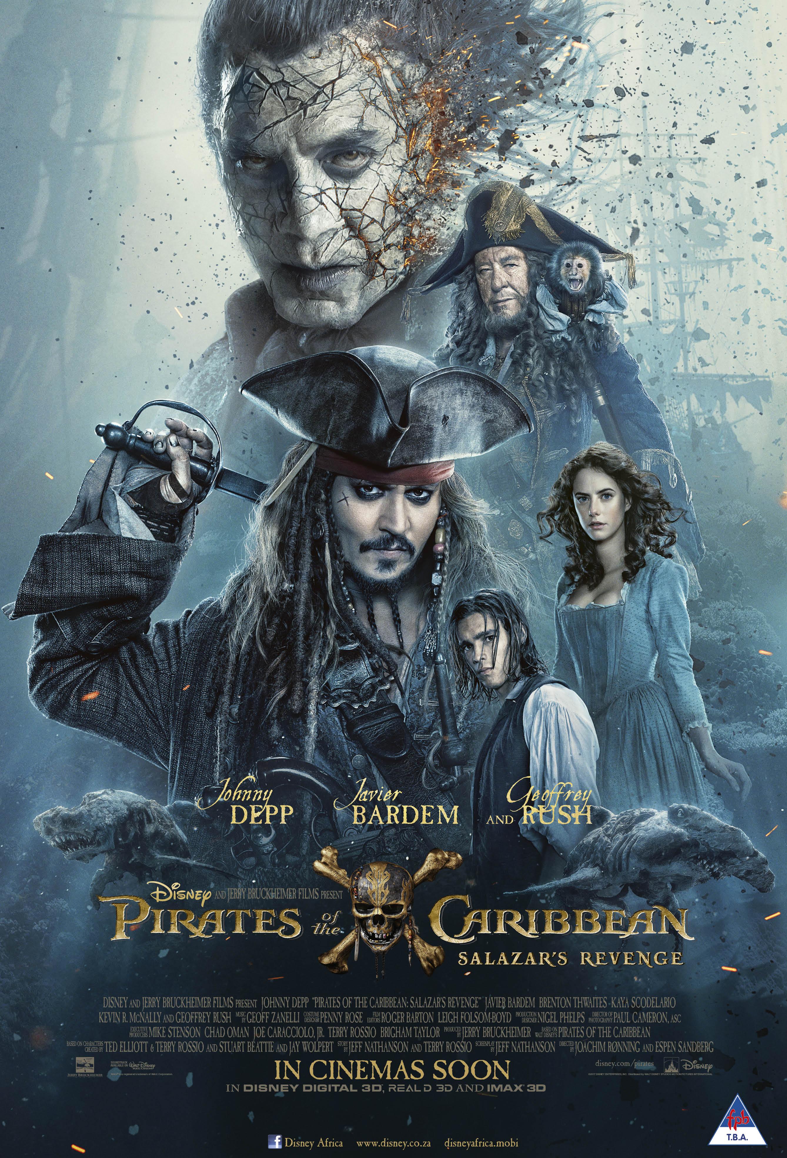 Win Exclusive 'Pirates of the Caribbean: Salazar's Revenge' Merchandise