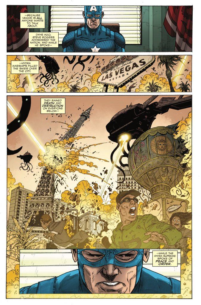 Steve Rogers: Captain America #17