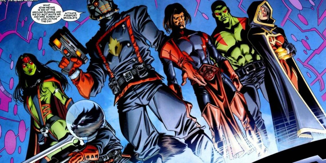 The Guardians Of The Galaxy In The Comic Books Versus The Movies