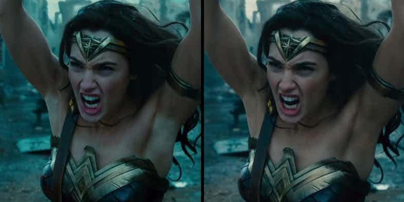 Wonder Woman's Armpits Got A Digital Fix In New Footage