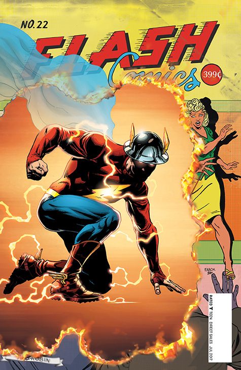 Wonder Woman's Marketing Hasn't Failed, But The Flash #22