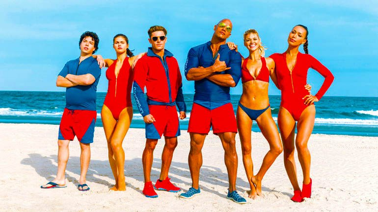 SK's Baywatch Pre-Screening – Cocktails Under the Sun, I Mean Lights