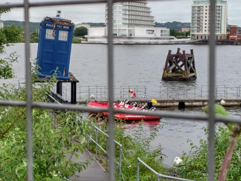 Crashed TARDIS