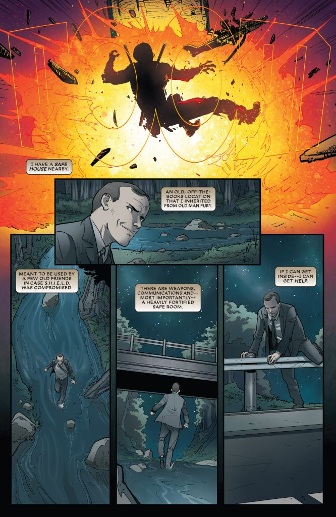 Did An Artist's Error Save Agent Coulson's Life Deadpool#31