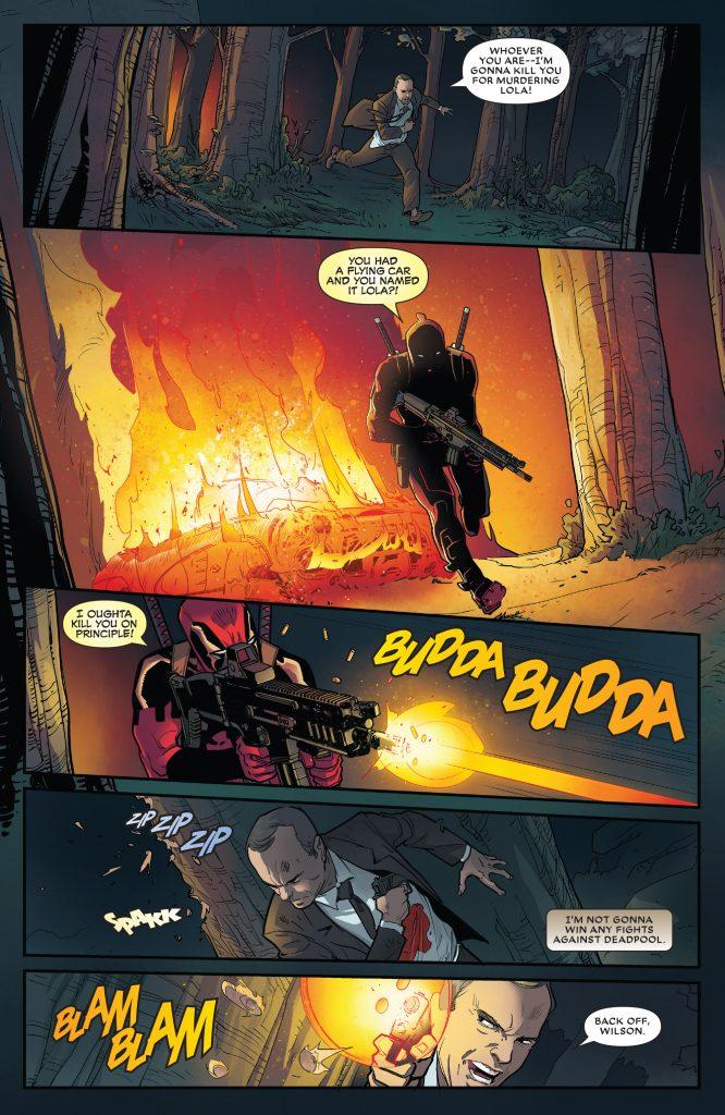 Did An Artist's Error Save Agent Coulson's Life Deadpool#31 comic book