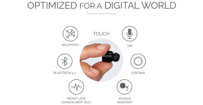 Touch: Affordable, Ultra Small Wireless Earbuds – Now on IndieGoGo