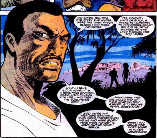 Nelson Mandutu 7 DC Characters Who Come From South Africa