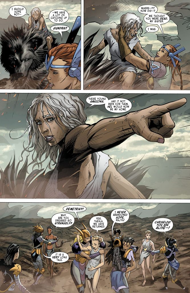 Odyssey Of The Amazons #6
