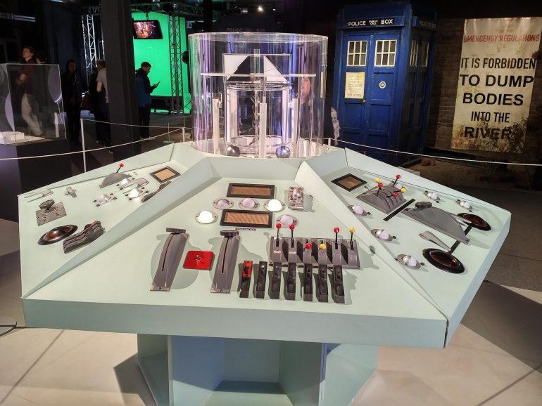 Original TARDIS console