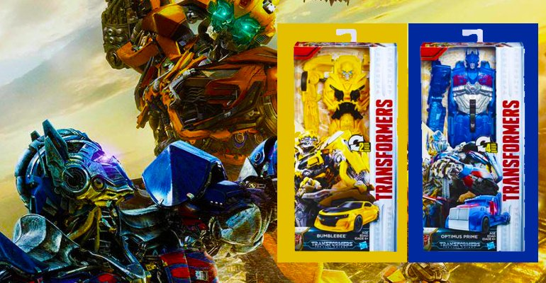 Win A Transformers: The Last Knight Titan Changers Figurine