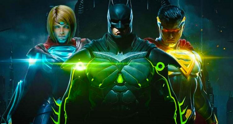 Win a copy of Injustice 2 on ps4 and xbox one